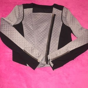 A crop top jacket